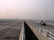 New highway linking Hanoi, Thai Nguyen opens for testing