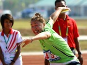 Javelin throwers break world records at Para Games