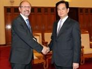 Vietnam ready to push trade with Belgium