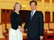 Vietnam hopes to boost ties with Australia