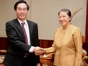 Lao leaders support auditing cooperation with Vietnam