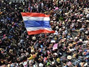 Protest leader proclaims end to Bangkok Shutdown