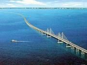 Malaysia inaugurates longest bridge in Southeast Asia