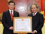 Kumho Asiana Chairman honoured in Vietnam
