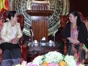 Cambodian Senate delegation visits Vietnam