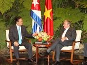 Vietnam, Cuba hail 'fraternal' bond