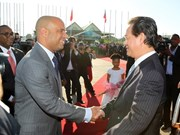 PM Dung begins official visit to Haiti