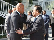 Vietnamese, Haitian leaders promote partnership