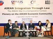 ASEAN integration through law in spotlight