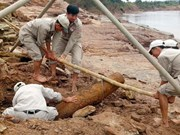 Central provinces strive to clear UXO