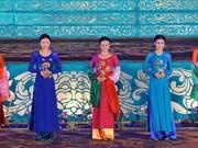 Vietnamese Ao dai features multi-national beauties