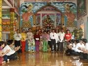 Khmer people in Soc Trang enjoy New Year