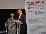 Vietnam makes case for AO victims at legal congress