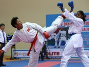 Vietnam first at Southeast Asia Karatedo competition