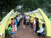 Book festival opens at national library