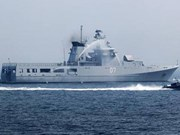 Bruneian naval vessel begins Vietnam visit