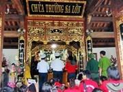 Buddha gem statue presented to Truong Sa pagoda