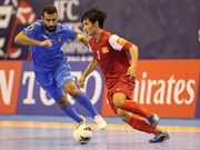 Asian Futsal Champs' quarterfinal teams turn up