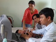 Heart check-ups given to Phu Yen children