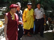 Indian Buddhist delegation pays tribute to General Giap