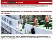 German press criticises China's East Sea aggression
