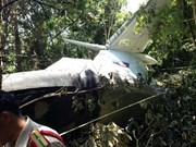 Lao military aircraft crashes in Xieng Khouang