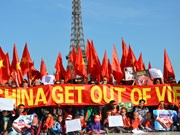 China stops violating Vietnam's sovereignty: protesters