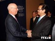 Prime Minister meets World Economic Forum leader