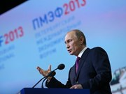 VNA leading official attends int'l economic forum in Russia