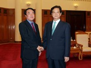 PM Dung receives Yonhap news agency president