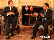 Vietnam, UK diplomats talk ties over phone