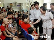 Child patients receive gifts on International Children's Day