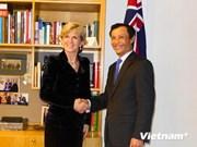 Australian FM wants enhanced ties with Vietnam