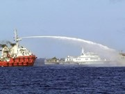 China's East Sea illegal acts condemned globally