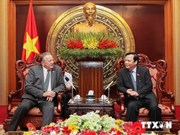 Belarusian parliamentarians welcomed in Hanoi