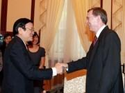 President bids farewell to Norwegian Ambassador
