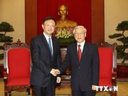 Party chief affirms consistent policy on China relations