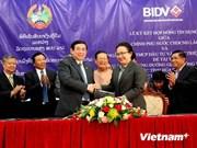 Vietnam bank provides loan for Lao road construction