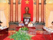 President visits Supreme People's Procuracy