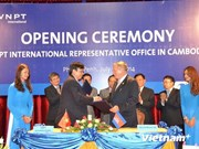 Telecoms company opens office in Cambodia
