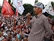 Indonesia begins presidential election
