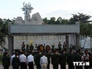 Upgrade on Quang Tri Martyrs Cemetery inaugurated