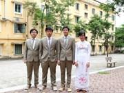 Vietnam wins medals at int'l biology contest