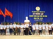 Fifth fishing union set up in Binh Thuan province