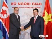 Vietnam, DPRK FMs hold talks, look to closer ties