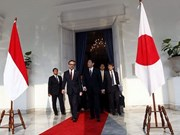 Japan, Indonesia foster strategic partnership