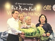 Bui Xuan Phai awards granted for cultural contributions to Hanoi
