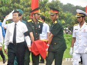 Over 100 martyrs buried in Dong Nai after a three-year search