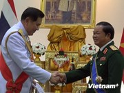 Vietnamese military officer awarded Thai order