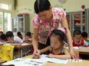 1.1 million Vietnamese children not in school: survey